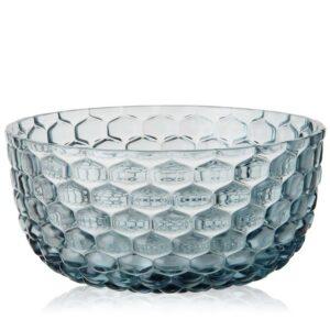 Bol Kartell Jellies Family design Patricia Urquiola 14cm albastru transparent