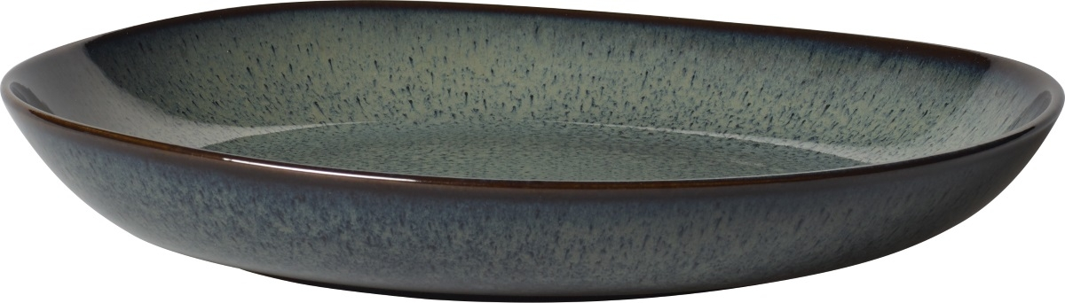 Bol plat like. by Villeroy & Boch Lave Gris 28cm