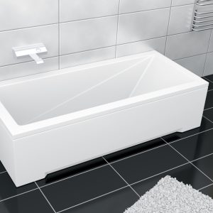 Cada baie rectangulara Besco Modern 160x70cm acril