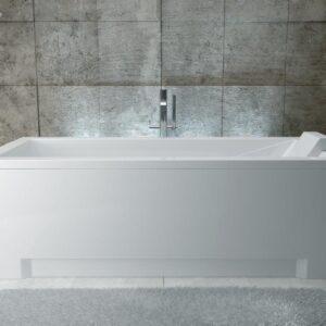Cada baie rectangulara Besco Modern 170x70cm acril
