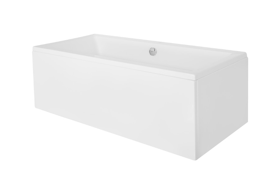 Cada baie rectangulara Besco Quadro 180x80cm acril