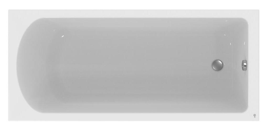 Cada baie rectangulara Ideal Standard Hotline 170x75cm acril