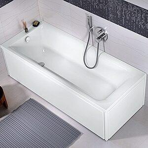 Cada baie rectangulara Kolo Rekord 160x70cm acril