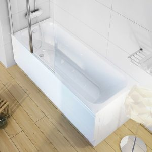 Cada baie rectangulara Ravak Concept Chrome 150x70cm acril