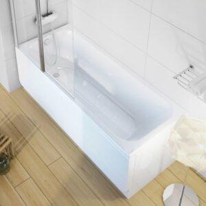 Cada baie rectangulara Ravak Concept Chrome 160x70cm acril
