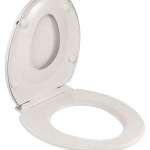 Capac WC cu reductie pentru copii Wirquin PRO Family inchidere lenta alb