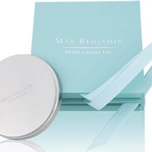 Capac pentru lumanare parfumata Max Benjamin Silver GiftBox