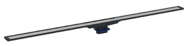 Capac rigola de pardoseala Geberit CleanLine20 lungime 30-90 cm finisaj metal negru-metal periat
