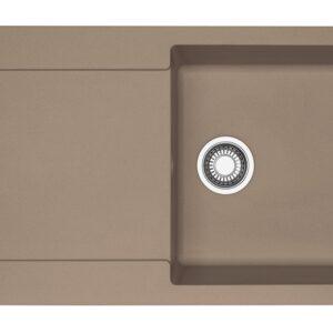 Chiuveta bucatarie fragranite Franke Maris MRG 611-L reversibila 970x500mm tehnologie Sanitized Oyster