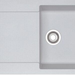 Chiuveta bucatarie fragranite Franke Maris MRG 611 reversibila 780x500mm tehnologie Sanitized Bianco