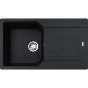 Chiuveta bucatarie fragranite Franke Urban UBG 611-86 860x500mm Nero