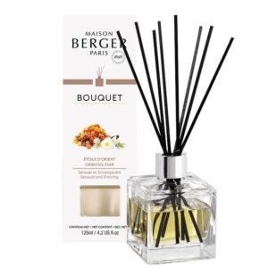 Difuzor parfum camera Berger Bouquet Parfume Cube Etoile d'Orient 125ml