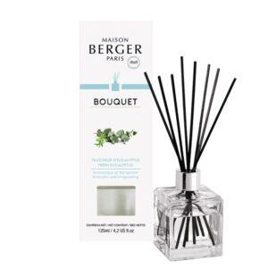 Difuzor parfum camera Berger Bouquet Parfume Cube Fraicheur d'Eucalyptus 125ml