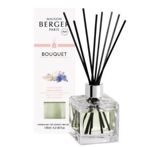 Difuzor parfum camera Berger Bouquet Parfume Cube Lin en Fleurs 125ml