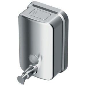 Dispenser sapun Ideal Standard IOM 0.5L cu montaj pe perete