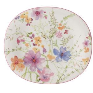 Farfurie ovala Villeroy & Boch Mariefleur Basic Salad 23x19cm