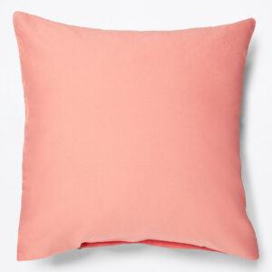 Fata de perna Marc O`Polo Washed Linen 40x40cm roz coral