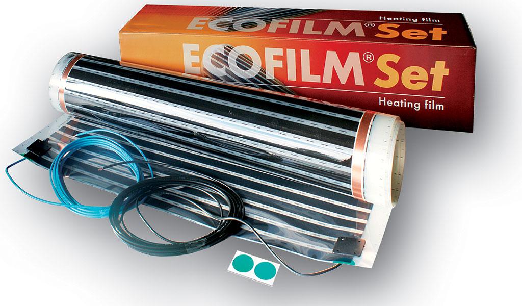 Kit Ecofilm folie incalzire pentru pardoseli din lemn si parchet ES13-550 2 5 mp