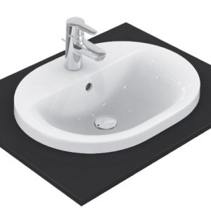 Lavoar Ideal Standard Connect Oval 48x40cm montare in blat