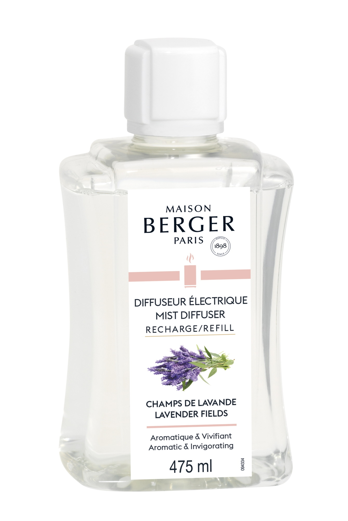 Parfum pentru difuzor ultrasonic Berger Champs de Lavande 475ml