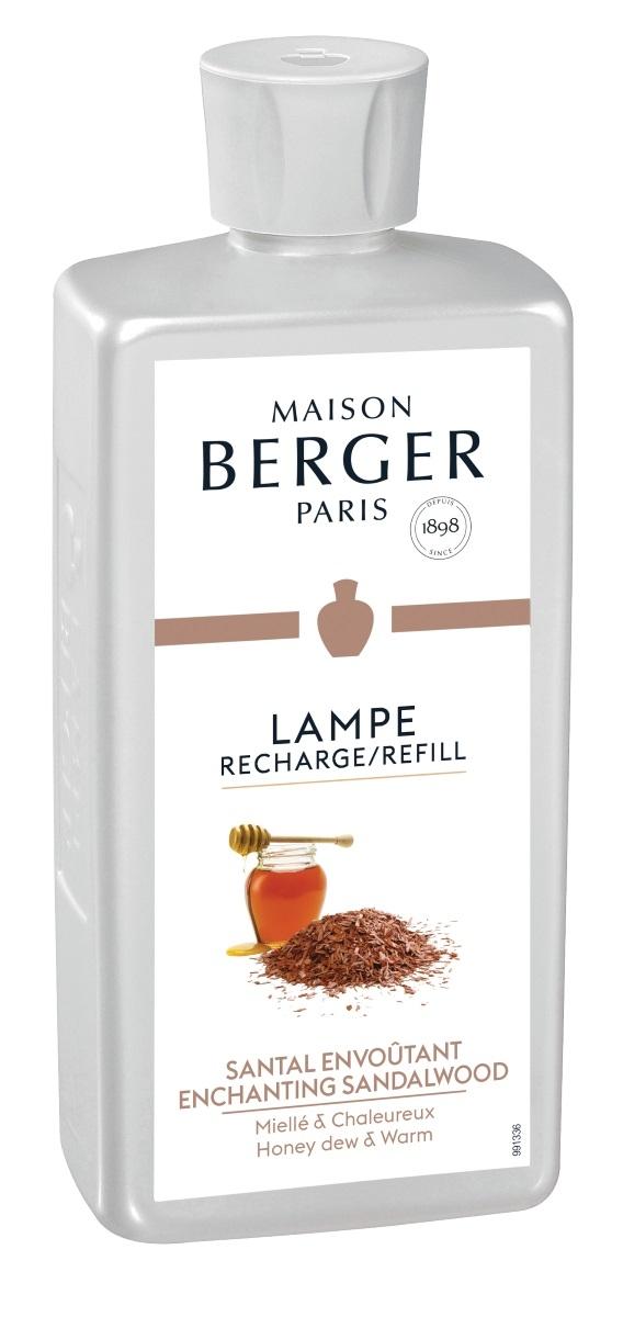 Parfum pentru lampa catalitica Berger Santal Envoutant 500ml
