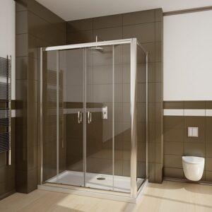 Perete lateral Radaway Premium Plus S70 70x190 geam transparent profil crom