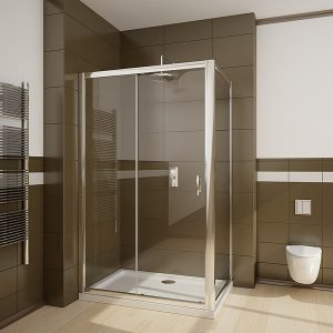 Perete lateral Radaway Premium Plus S90 90x190 geam transparent profil crom
