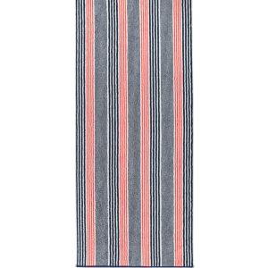 Prosop baie Cawo Maritime Stripes 70x140cm 12 rosu