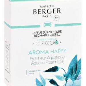 Rezerve ceramice odorizant masina Berger Aroma Happy Fraicheur Aquatique 2 piese