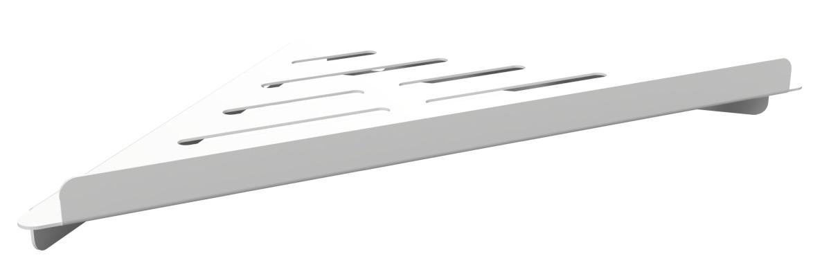 Savoniera de colt Bemeta White