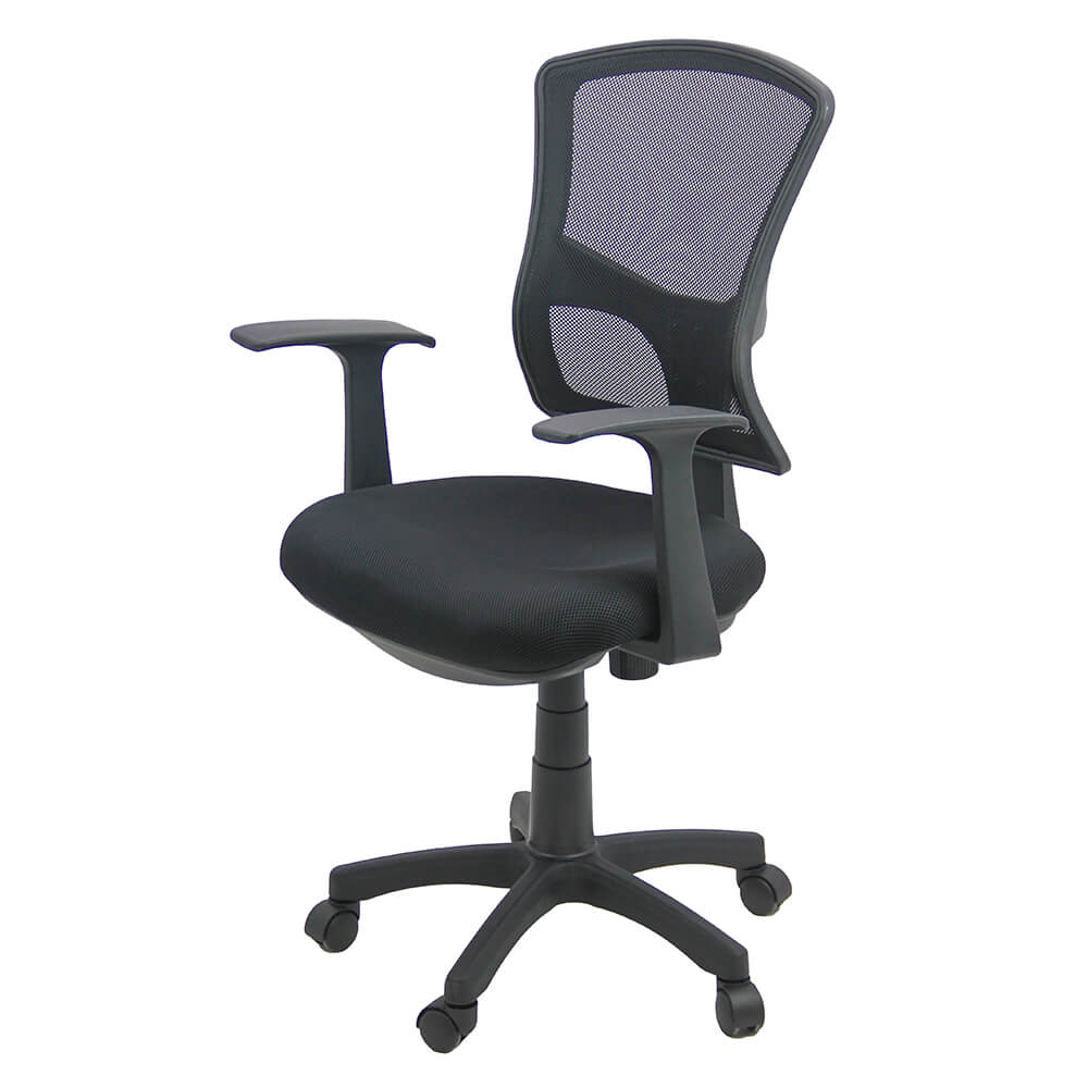 Scaun birou OFF 706 negru