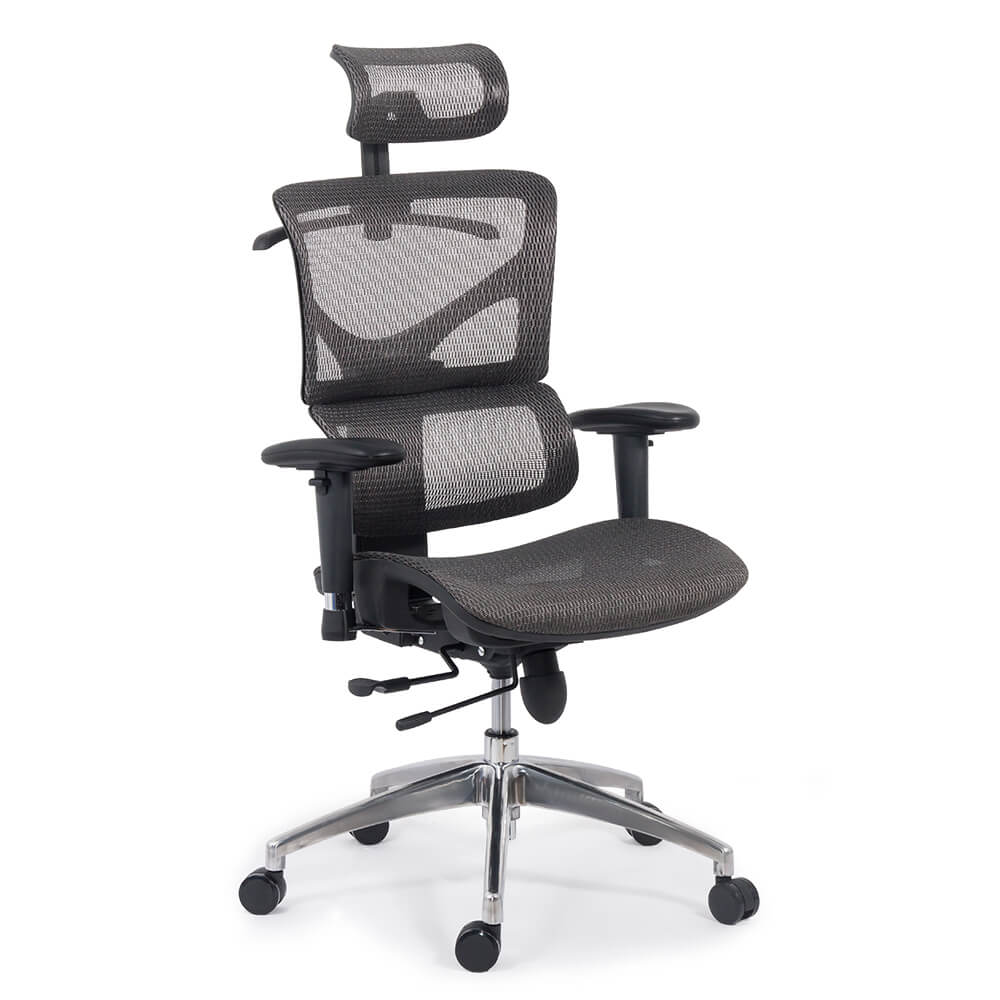 Scaun ergonomic multifunctional SYYT 9500 gri