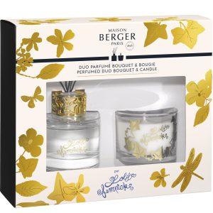 Set Berger Duo Lolita Lempicka Bouquet Parfume 80ml + lumanare parfumata 80g
