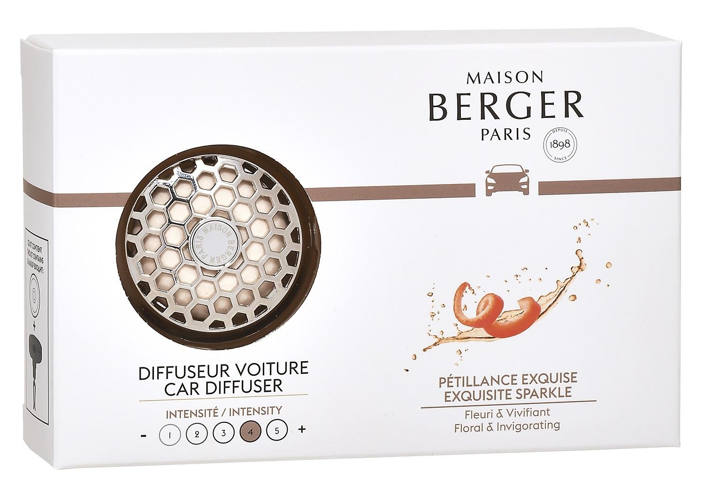 Set odorizant masina Berger Exquisite Sparkle + rezerva ceramica