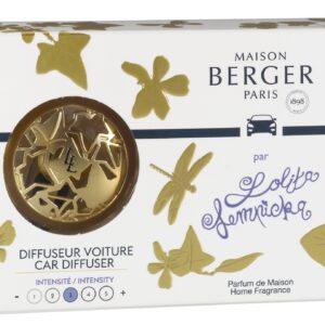 Set odorizant masina Berger Lolita Lempicka - Or satine + rezerva ceramica