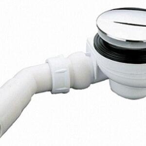 Sifon cadita Radaway Turboflow TB90 crom diametru 90mm