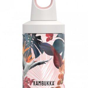Sticla termos Kambukka Reno cu capac Twist inox 300 ml Orchids