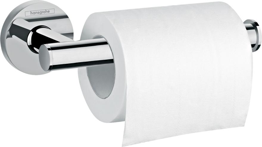 Suport hartie igienica Hansgrohe Logis Universal 148mm crom