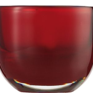 Suport lumanare Zwiesel 1872 Living Lights Red 74x92mm