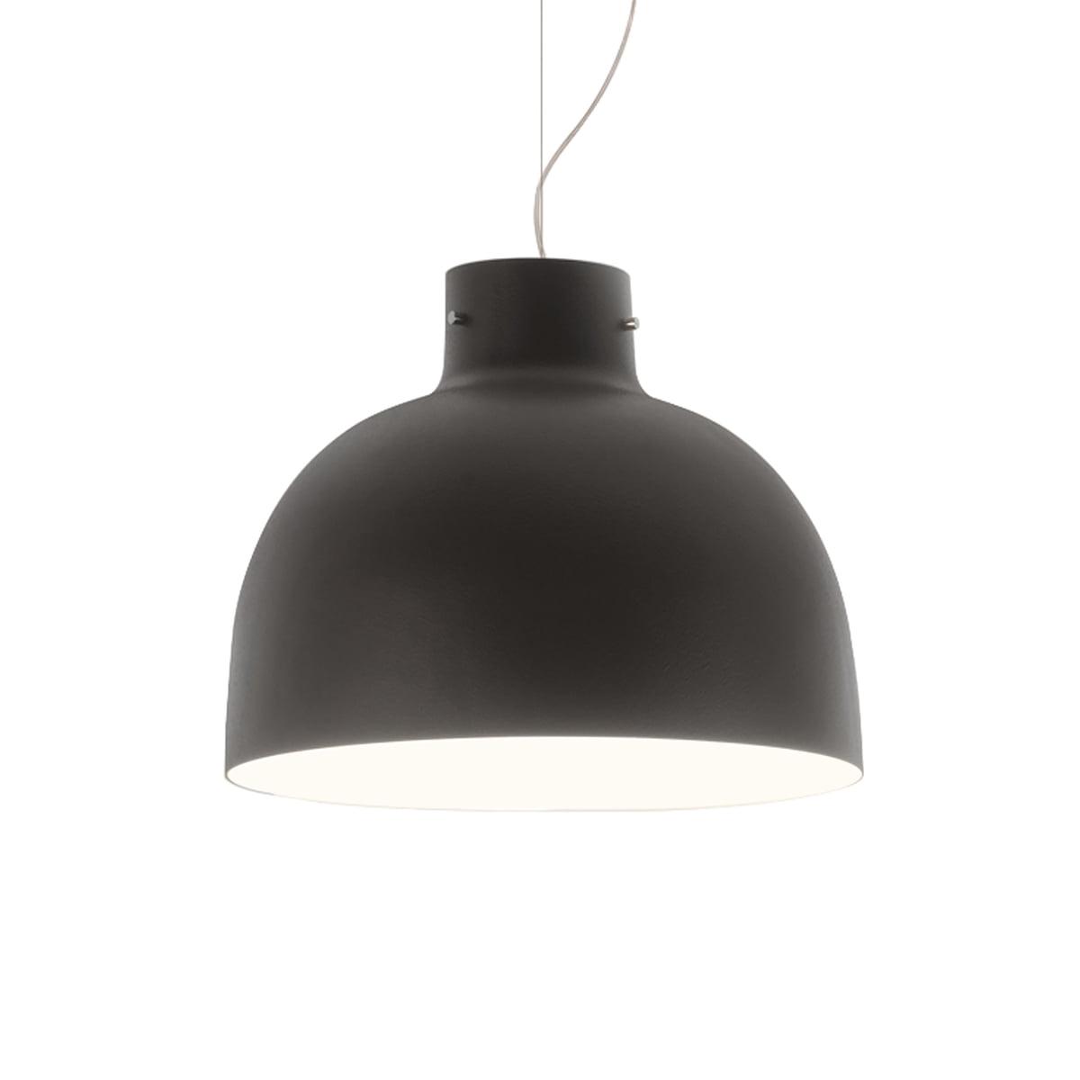 Suspensie Kartell Bellissima design Ferruccio Laviani LED 15W d50cm negru