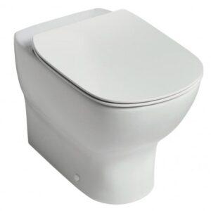 Vas WC Ideal Standard Tesi AquaBlade back-to-wall pentru rezervor ingropat